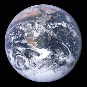 Art Changing the World - image of earth from Apollo 17