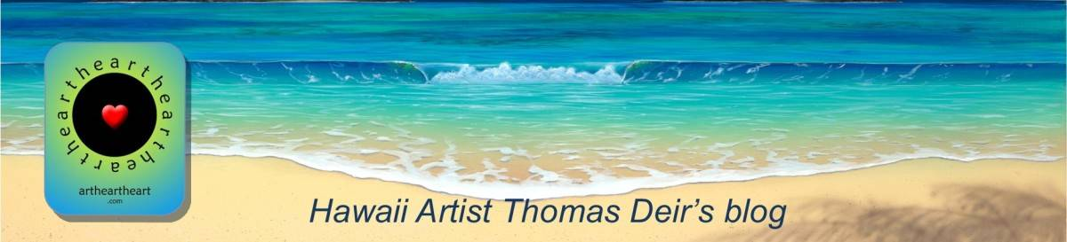 Artist Thomas Deir's Blog