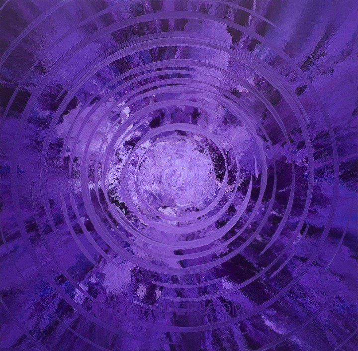 The Purple Effect Hawaii Abstract